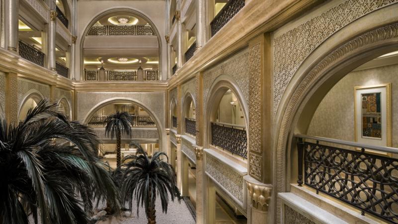 Emirates Palace Abu DhabiLounge/Empfang