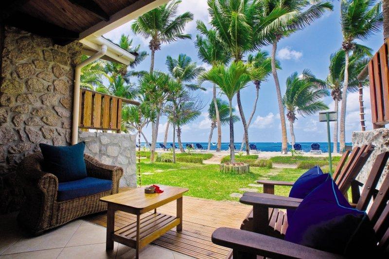 Coco de Mer Hotel & Black Parrot SuitesTerasse