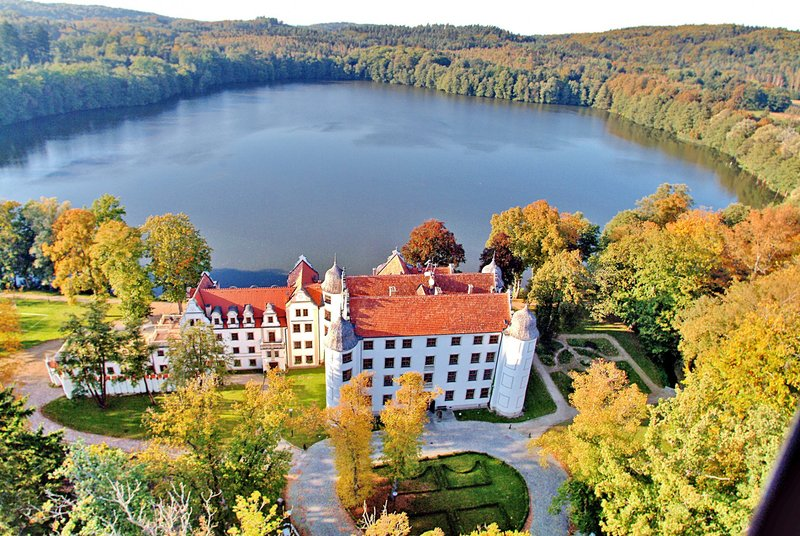 Direkt am Kragener Schlosssee