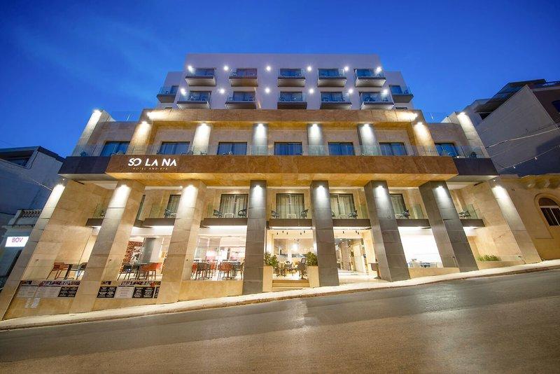 7 Tage in Mellieha Bay (Ghadira) Solana Hotel & Spa - Hotel & App.