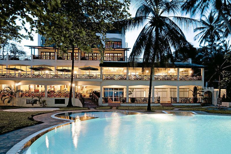 Neptune Beach Resort in Bamburi Beach, Kenia - Küste