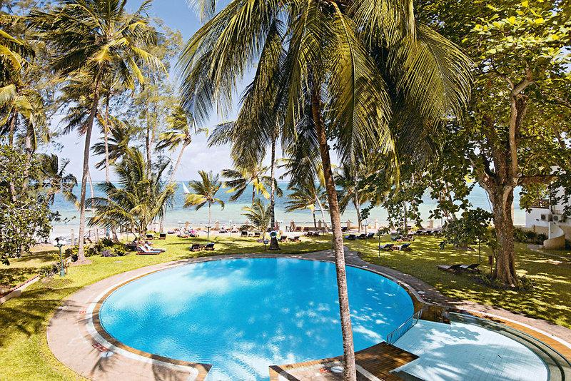 Neptune Beach Resort in Bamburi Beach, Kenia - Küste P