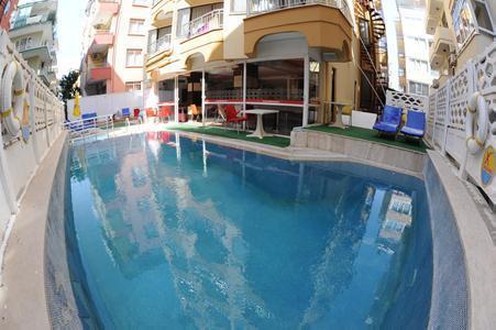 Kleopatra Bebek Hotel in Alanya, Türkische Riviera A