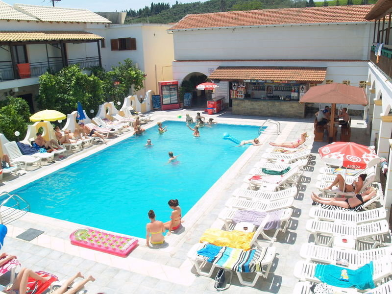 Hotel Lefkimi in Kávos, Korfu P