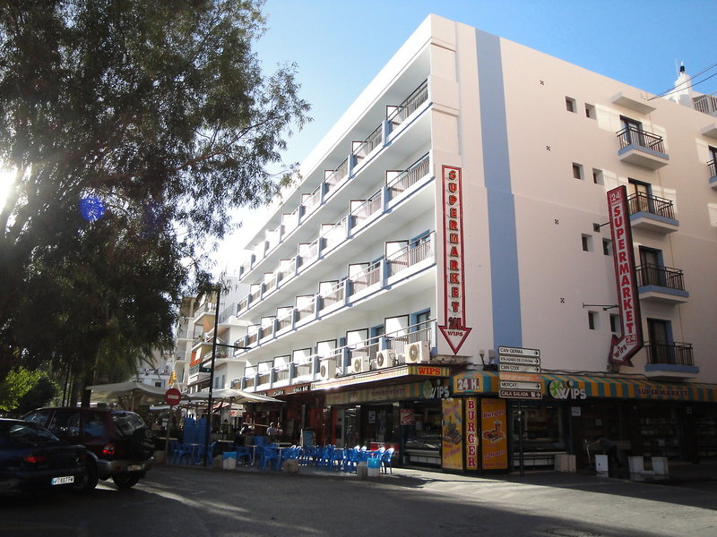 The Blue Apartments in Sant Antoni de Portmany, Ibiza A