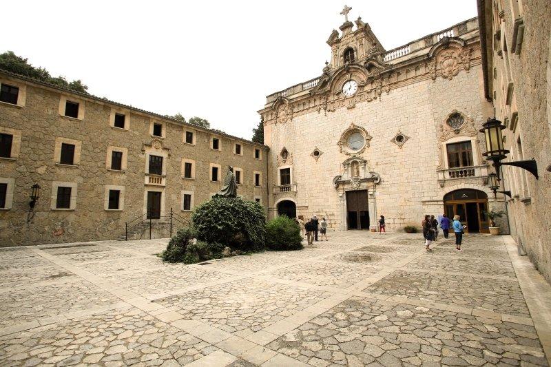 Santuari de Lluc in Lluc, Mallorca A