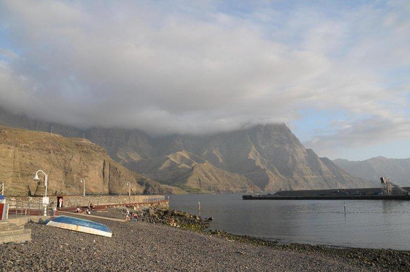 Puerto de las Nieves in Agaete, Gran Canaria S