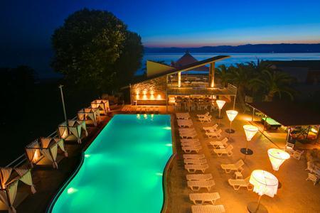 Island Beach Resort in Kávos, Korfu P