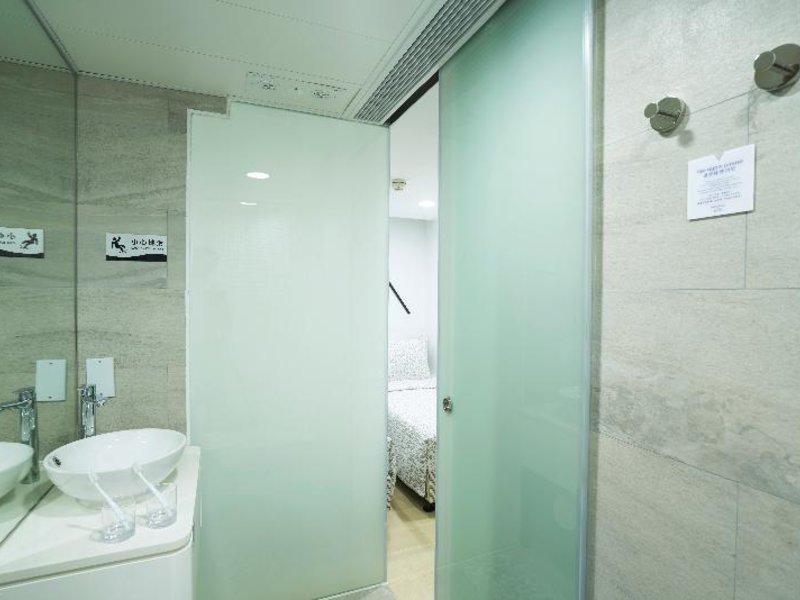 Minimal Hotel Culture in Kowloon, China - Hongkong und Umgebung W