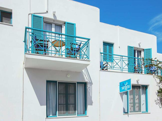 La Selini in Parikia, Paros (Kykladen)