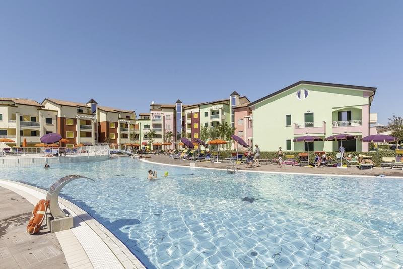 Residence Larici in Lido Altanea, Italienische Adria P