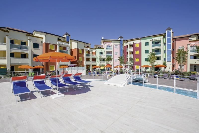 Residence Larici in Lido Altanea, Italienische Adria A