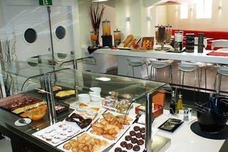 Hotel Leonardo Boutique Hotel Sagrada Familia Frühstücksraum