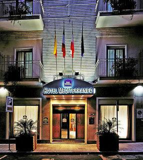 Hotel Best Western Mediterraneo Catania Außenaufnahme