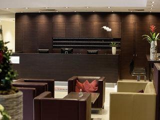 Hotel Arcotel Donauzentrum Lounge/Empfang