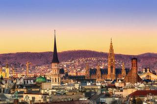 Hotel Mercure Wien Westbahnhof Stadtansicht