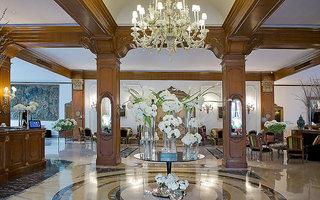 Hotel Aldrovandi Villa Borghese Lounge/Empfang