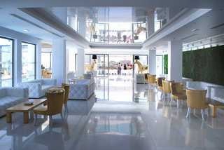 Hotel Diamond Deluxe Hotel - Erwachsenenhotel Lounge/Empfang