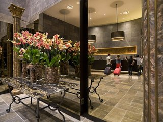 Hotel A.Roma Lifestyle Hotel Lounge/Empfang