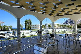 Hotel Kolymbia Bay Art - Erwachsenenhotel Terasse