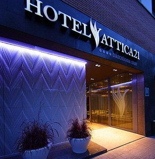 Hotel Attica 21 Barcelona Mar Außenaufnahme
