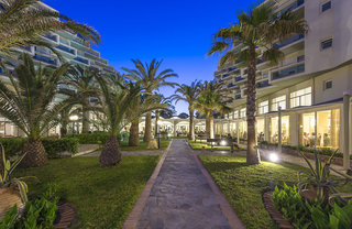Hotel Apollo Beach Garten