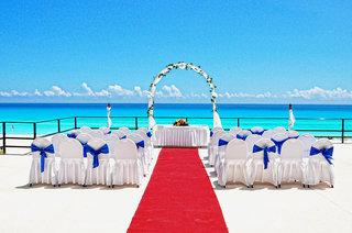 Hotel Flamingo Cancun Resort Terasse