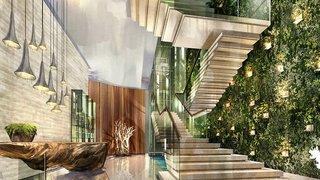 Hotel Hilton Dubai Al Habtoor CityLounge/Empfang