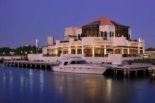 Hotel Intercontinental Abu Dhabi Meer/Hafen/Schiff