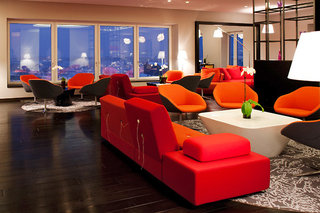 Hotel Vienna House Andel´s Berlin Lounge/Empfang