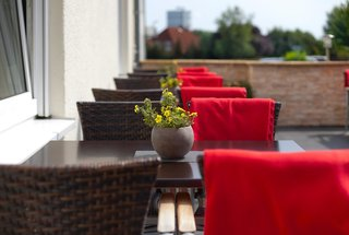 Hotel TRYP by Wyndham Lübeck Aquamarin Terasse