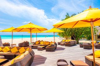 Hotel Angsana Resort & Spa Maldives Velavaru Terasse