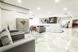 Hotel Flatotel International Lounge/Empfang