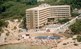 Hotel Cala Font Luftaufnahme
