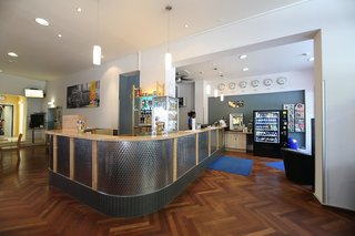 Hotel a&o City Hotel Hauptbahnhof München Lounge/Empfang