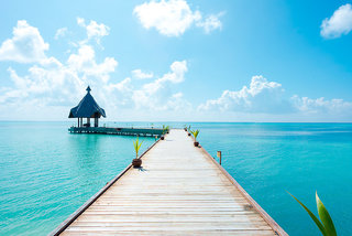 Hotel Canareef Resort Maldives Strand