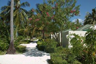 Hotel Canareef Resort Maldives Garten