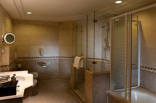 Hotel SENTIDO Palm Royale Badezimmer