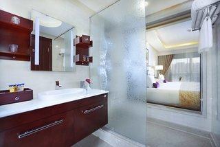 Hotel Albatros White Beach Badezimmer