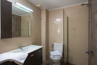 Hotel Gouves Water Park Holiday Resort Badezimmer