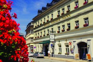 Hotel Traditionshotel Wilder Mann Außenaufnahme