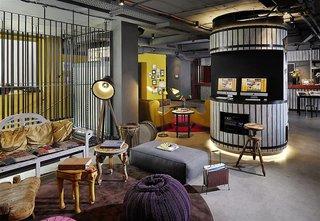 Hotel 25hours Hotel Wien beim Museumsquartier Lounge/Empfang