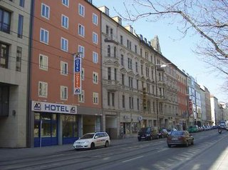 Hotel a&o City Hotel Hauptbahnhof München Außenaufnahme