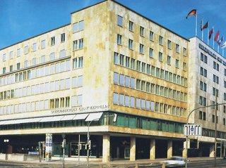 Hotel Steigenberger Graf Zeppelin Außenaufnahme