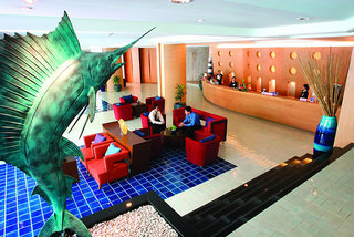 Hotel A-One The Royal Cruise Lounge/Empfang