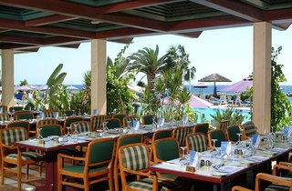 Hotel Atlantica Miramare Beach Terasse
