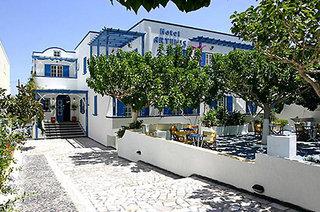 Hotel Artemis Kamari Außenaufnahme