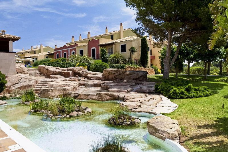 Modernes 4* Aparthotel Grupotel Playa Club auf Menorca