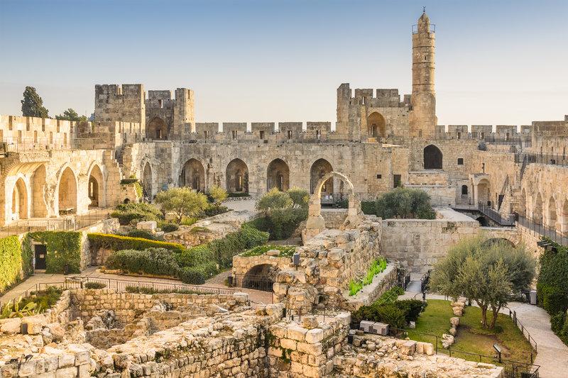 Mount Of Olives Stadtansicht