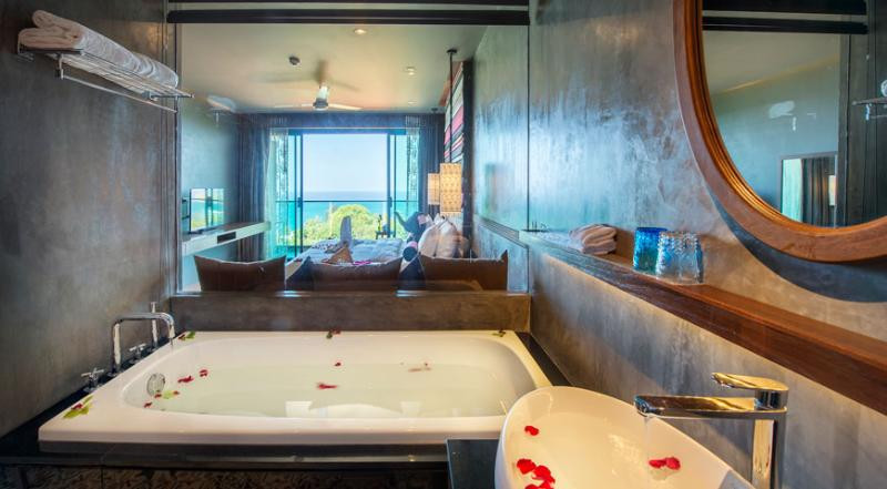 Nook Dee Boutique Resort, Kata Beach by Andacura Premium Badezimmer